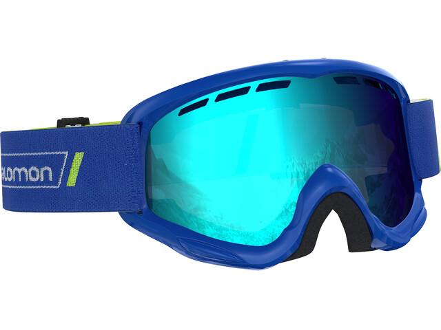 Salomon Juniors Juke Race Goggles Blue